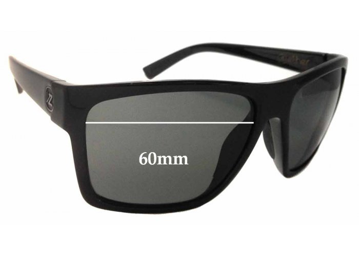SFX Replacement Sunglass Lenses fits Von Zipper Lomax 57mm Wide