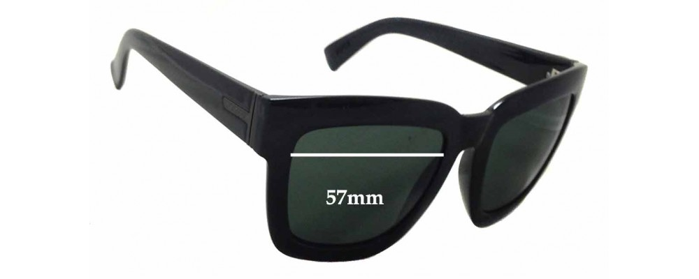 9787d5a9fa8 Von Zipper Juice Replacement Sunglass Lenses - 57mm wide - 46mm tall