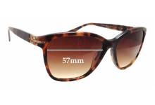 Versace MOD 4290 Replacement Sunglass Lenses - 57mm wide