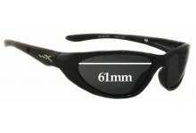 Wiley X Blink WX Replacement Sunglass Lenses - 61mm Wide