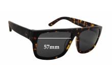 Ziggy Meltdown Replacement Sunglass Lenses - 57mm wide x 43.5mm tall