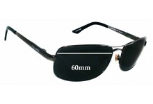 Bill Bass Josua 25137 Replacement Sunglass Lenses - 60mm wide