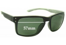 Black Ice PL6670 Replacement Sunglass Lenses - 57mm wide
