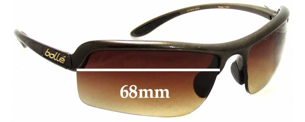 f9cf948ec42 Bolle Viteese Replacement Sunglass Lenses - 68mm Wide