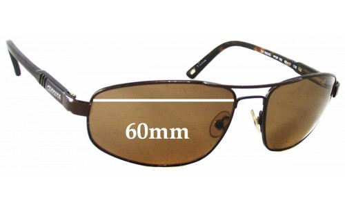 Carrera 7002S Replacement Sunglass Lenses - 60mm wide