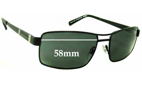 Country Road CR SunRx 01 25439267 Replacement Sunglass Lenses - 58mm Wide