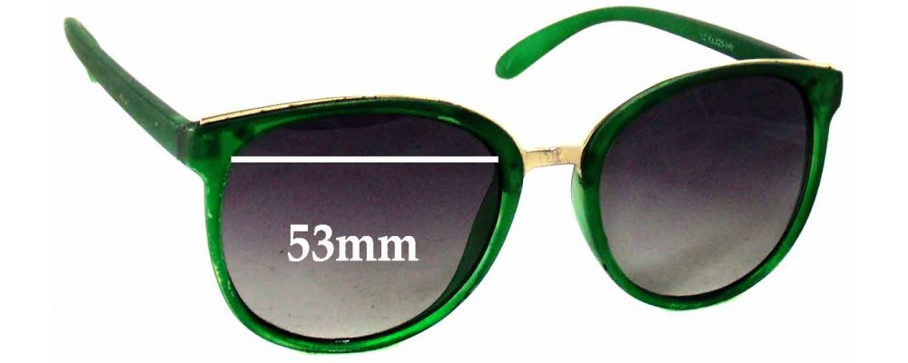 Dolce & Gabbana Unknown Model - 53mm Wide - Get a free pair if you can identify model number for us