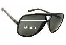 Sunglass Fix New Replacement Lenses for Dolce & Gabbana DG6081 - 60mm Wide