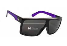 Dragon Fame Replacement Sunglass Lenses - 64mm wide