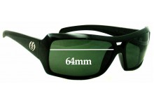 cf48c63510 Sunglass Fix Sunglass Replacement Lenses for Electric BSG Bam - 64mm Wide