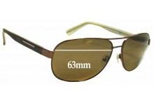 Gant GS Marcus Replacement Sunglass Lenses - 63mm Wide