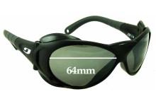 Julbo Explorer L Replacement Sunglass Lenses - 64mm wide