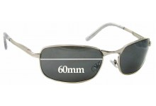 NYS 2655 Replacement Sunglass Lenses - 60mm Wide