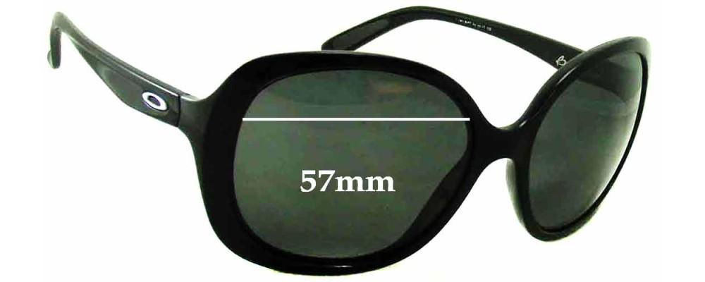 Oakley Backhand Replacement Sunglass Lenses - 57mm Wide