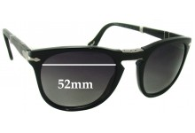 Persol 3028-S Replacement Sunglass Lenses - 52mm wide