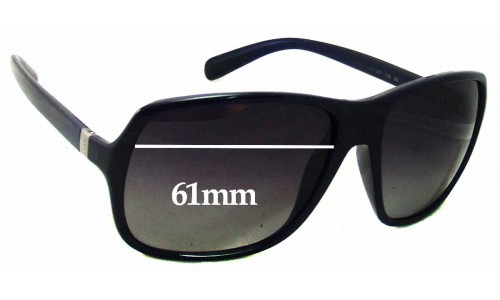 Prada SPR 07N Replacement Sunglass Lenses - 61mm wide