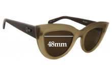 Quay Australia Kitti New Sunglass Lenses - 48mm wide