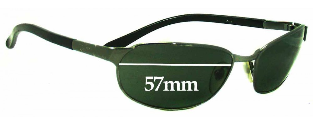 bfe80ae56f1 Ray Ban RB3146 Replacement Sunglass Lenses - 57MM wide