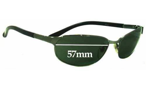 Ray Ban RB3146 Replacement Sunglass Lenses - 57MM wide