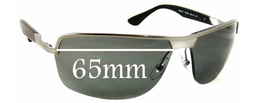 Replacement Sunglass Lenses  ban rb3510 replacement sunglass lenses 65mm wide