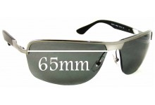 Ray Ban RB3510 Replacement Sunglass Lenses - 65mm Wide