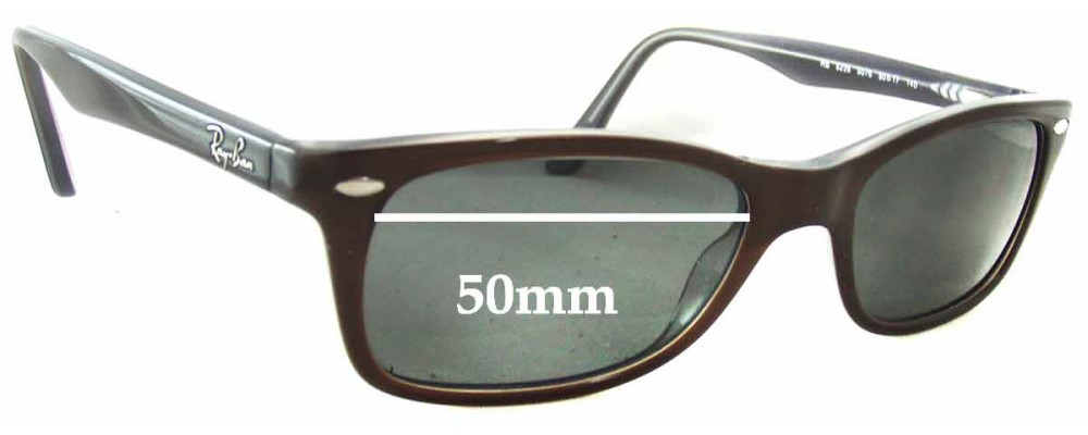 Ray Ban RB5228 Replacement Sunglass Lenses - 50mm wide