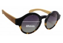 Spring Sparrow Hoot SS014BD Replacement Sunglass Lenses - 48mm wide
