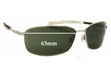 Timberland TB9036 Replacement Sunglass Lenses 63mm Wide
