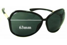 Tom Ford Raquel TF76 Replacement Sunglass Lenses - 63mm Wide