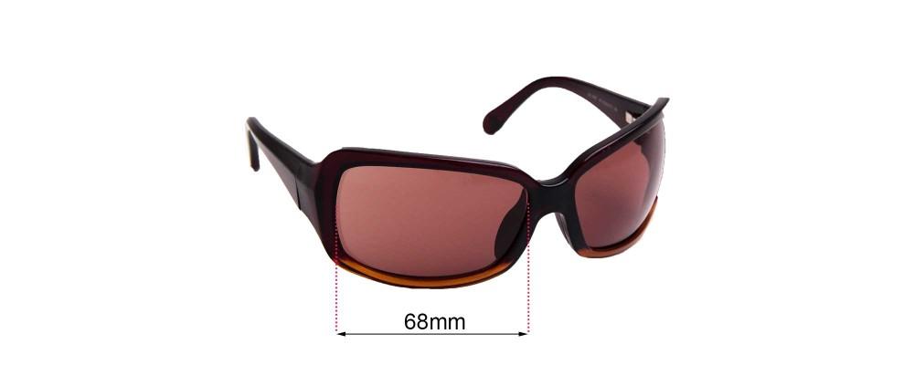 Sunglass Fix Replacement Lenses for Maui Jim Kai MJ201 - 68mm wide