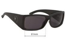 Metal Mulisha Empire 2 Replacement Sunglass Lenses - 61mm wide