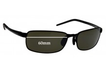 Sunglass Fix Replacement Lenses for Serengeti Vento - 60mm wide