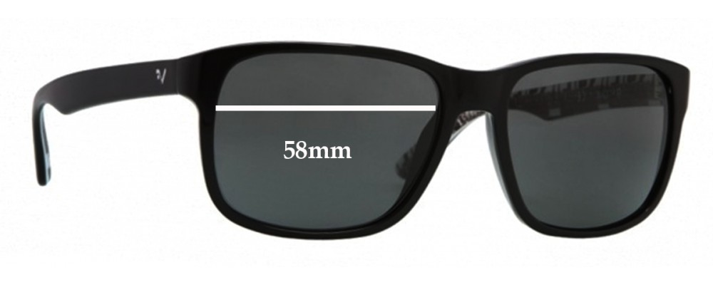 Vogue VO2716-S Replacement Sunglass Lenses - 58mm Wide