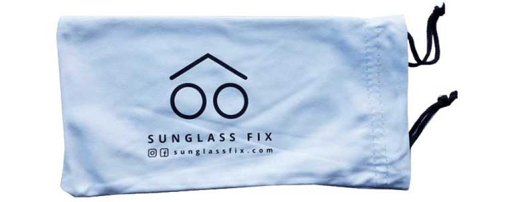 micro fiber sunglass case for cleaning and storing sunglasses