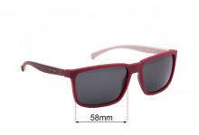 Arnette Stripe AN4251 Replacement Sunglass Lenses- 58mm wide