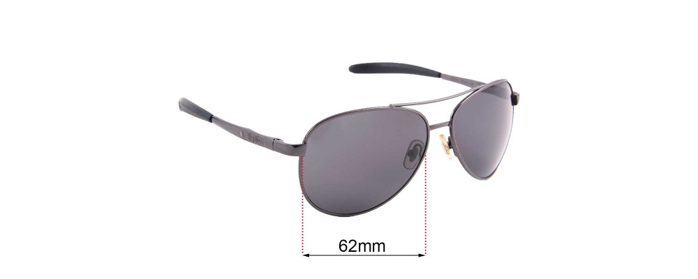 Ray Ban RB8327 Replacement Sunglass Lenses - 62mm wide