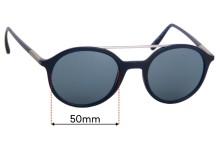 Sunglass Fix Replacement Lenses for Giorgio Armani  AR 8077 - 50mm wide