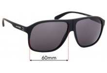 Replacement Sunglass Lenses for Arnette 50-50 Grand AN4243 - 60mm Wide