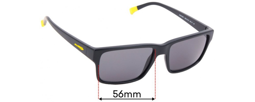 Sunglass Fix Replacement Lenses for Arnette Dashanzi AN4254 - 56mm Wide