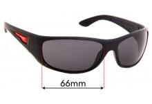 Arnette Freezer AN4155 Replacement Sunglass Lenses - 66mm wide