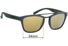 Arnette Huaka AN4247 Replacement Sunglass Lenses - 54mm wide