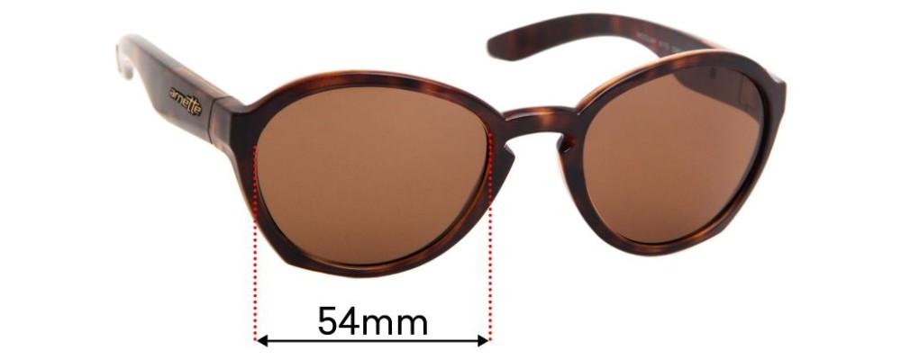 Arnette Moolah AN4170 Replacement Sunglass Lenses - 54mm wide