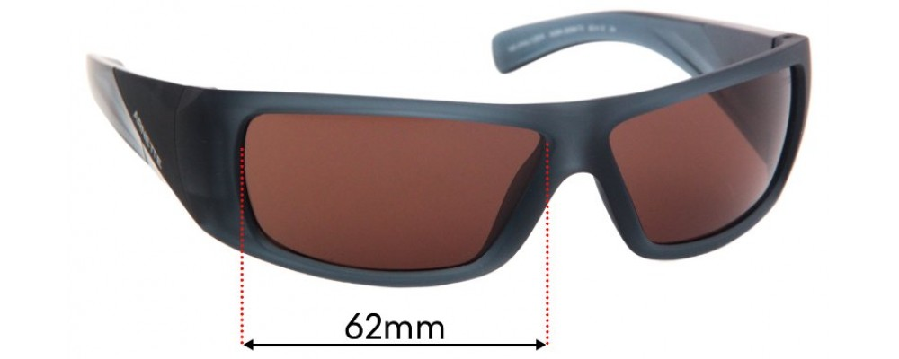 Arnette Neuralyzer AN4286 Replacement Sunglass Lenses - 62mm Wide
