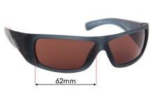 Arnette Neuralyzer AN4286 Replacement Sunglass Lenses - 62mm Wide