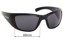 Arnette Rage XXL AN4175 Replacement Sunglass Lenses - 60mm Wide