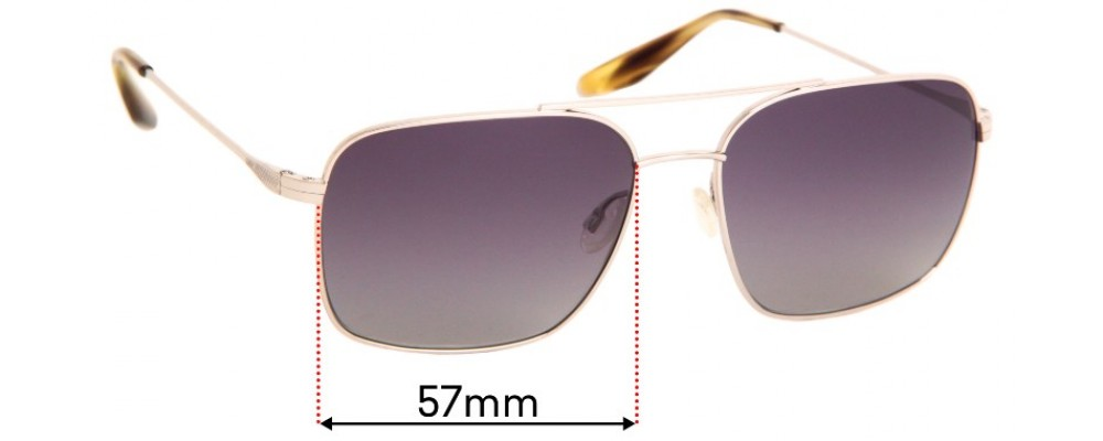 Barton Perreira Volair Replacement Lenses - 55mm wide