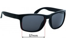 Sunglass Fix Replacement Lenses for Blenders Canyon - 57mm Wide