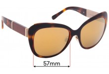 Sunglass Fix Replacement Lenses for Burberry B 3088 - 57mm Wide