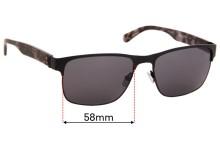 Calvin Klein CK7378SP Replacement Sunglass Lenses - 58mm Wide