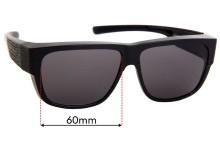 Sunglass Fix Replacement Lenses for Cancer Council Australia Natone - 60mm wide